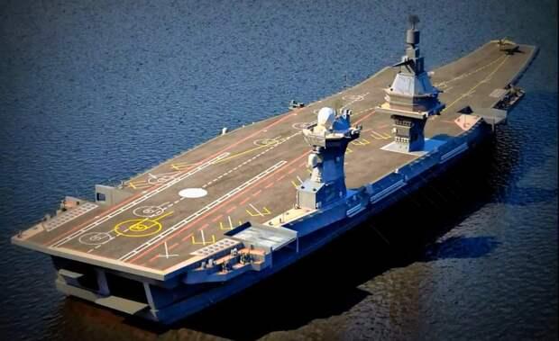 Sohu: новый российский авианосец создаст большую проблему для США