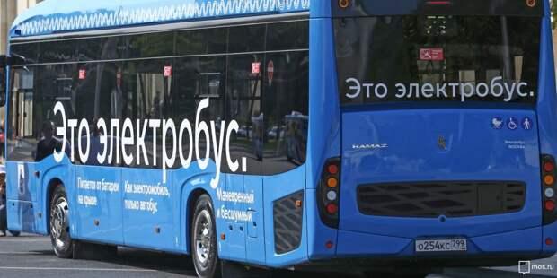 Новый электробусный маршрут свяжет Ростокино и Медведково