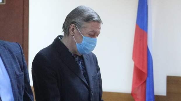 Адвокат оценила возможность Ефремова получить условный срок