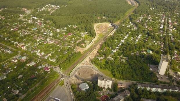 Около 10 дорожных объектов планируют открыть в Подмосковье в конце 2020 – начале 2021 гг
