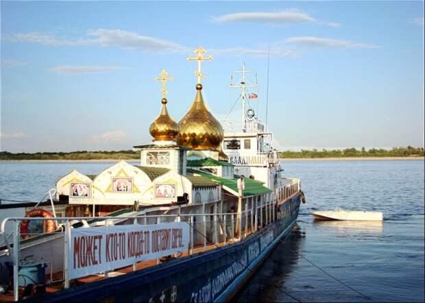 Зачем построили единственный в России плавучий храм