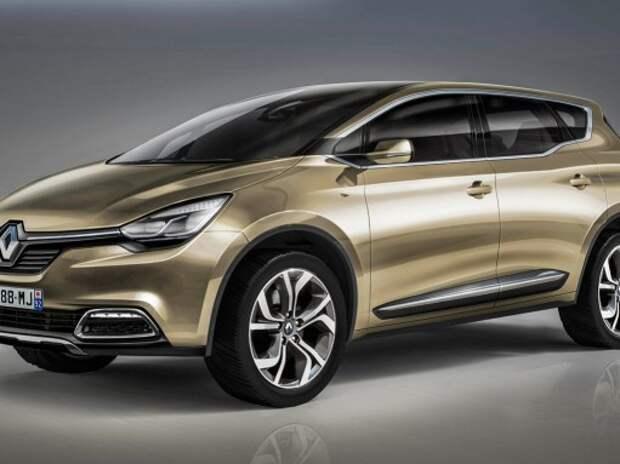 Новый 7-местный кроссовер Renault будет пятиметровым
