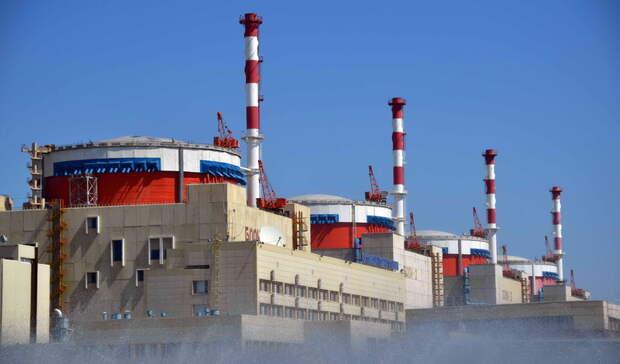 Около 7,5млрд кВт.ч электроэнергии выработала Ростовская АЭС