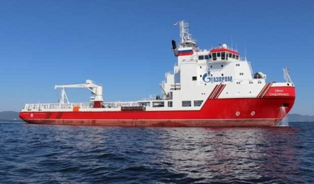 ВМФ России берет под охрану суда для достройки «Северного потока-2»
