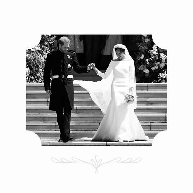 Принц Гарри и Меган Маркл в платье Givenchy