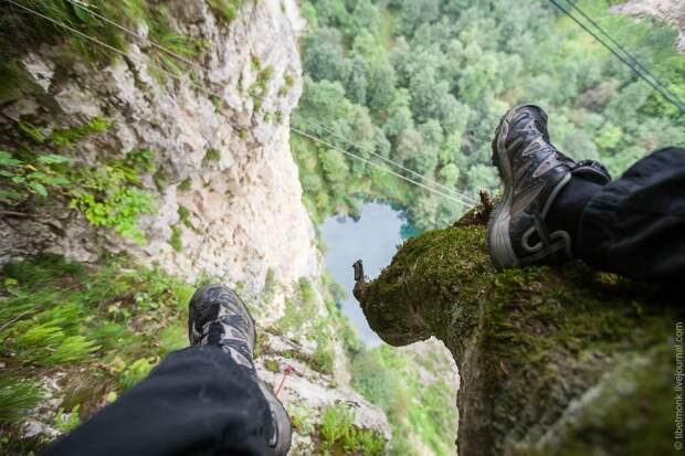 ropejumping33 Прыжок в Сухое озеро