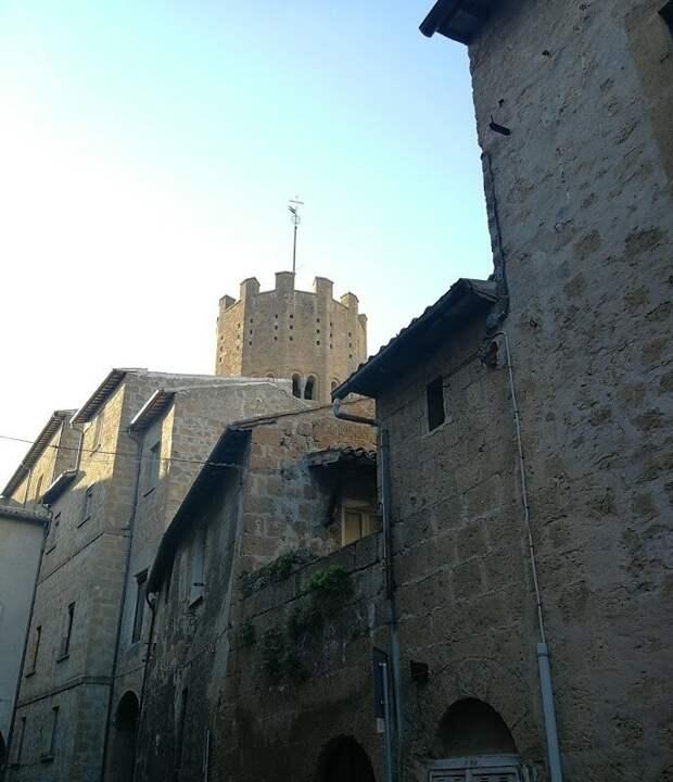 Италия. Умбрия. Орвието — «Медленный город»