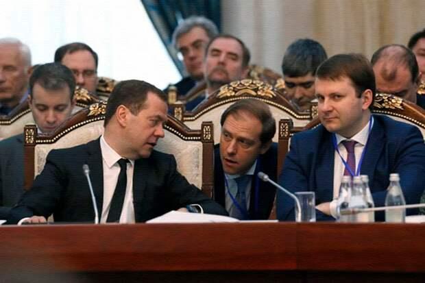 Максим Орешкин, Дмитрий Кобылкин и Денис Мантуров посмели возразить главе государства