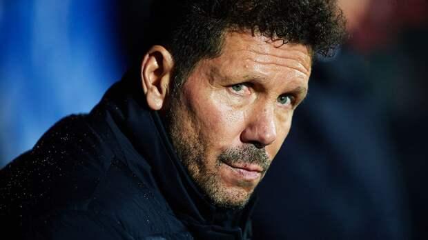 Симеоне: «Атлетико» не смог найти гол, который помог бы вернуться в игру с «Реалом»