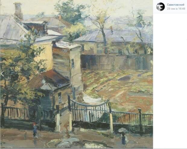 Фото дня: вид на Верхнюю Масловку в 1944 году
