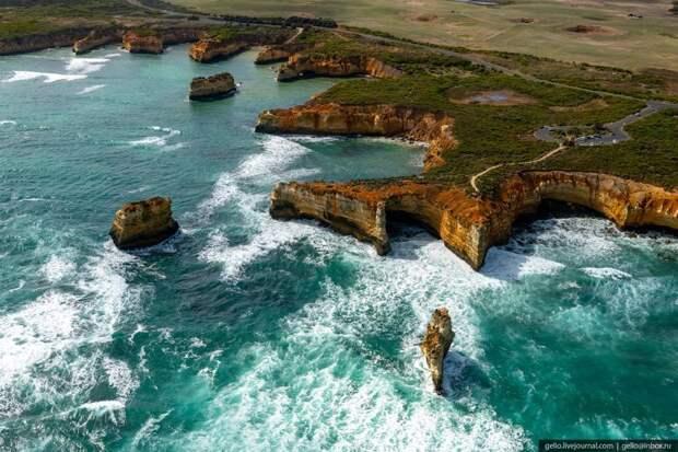 Австралия. Исчезающая красота (9 фото)