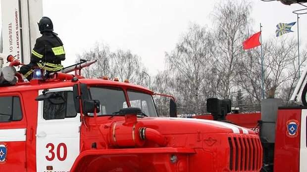Пожарные спасли пятилетнего ребенка в Москве