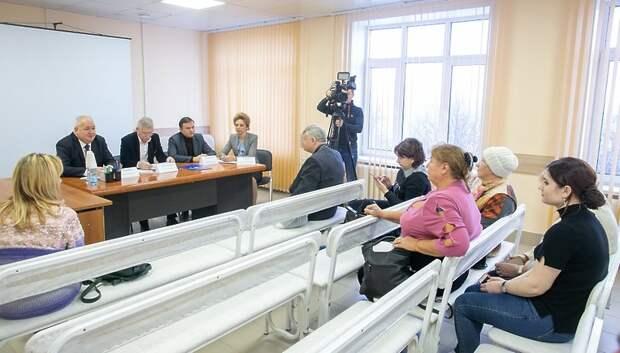 Ремонт поликлиники №1 в Подольске планируют завершить в январе 2020 года