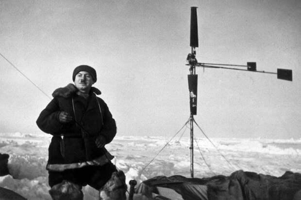 И.Д Папанин Папанин, арктика, северный полюс, экспедиция