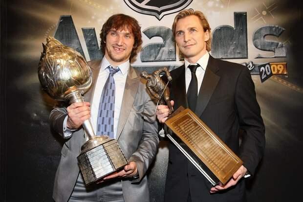 ВАмерике составили топ-50 русских хоккеистов вистории НХЛ: Федоров опередил Овечкина, Малкин стал 7-м