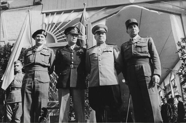 Лучшие полководцы стран участников Второй мировой войны