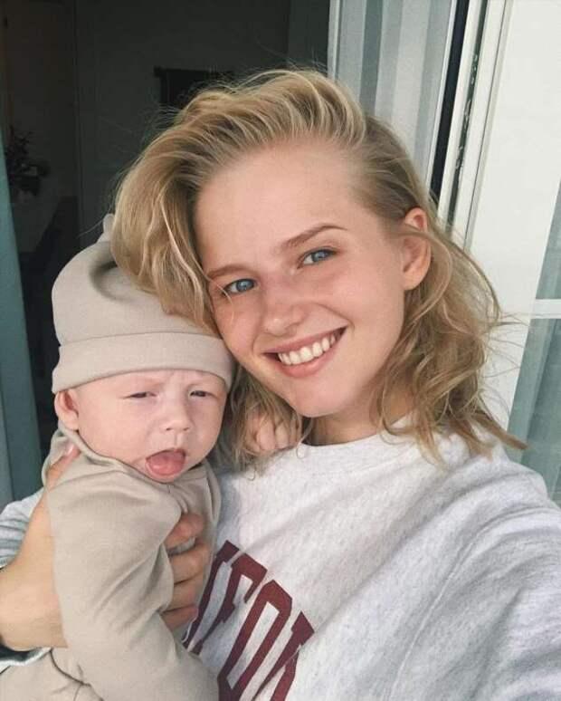 Нимфа в ожидании: Саша Бортич впервые показала беременное фото