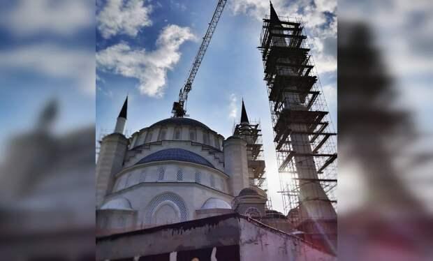 Соборная мечеть в Симферополе может открыться не раньше 2022 года