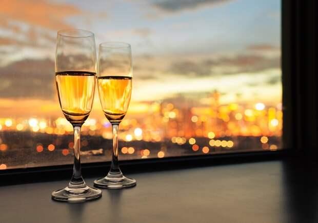 калорийность шампанского