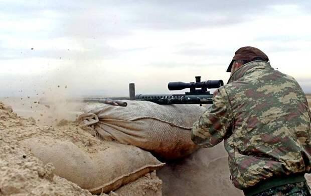 Арабские боевики в Карабахе вышли в эфир