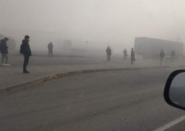 Концентрация вредных веществ в воздухе Екатеринбурга вдвое превысила норму