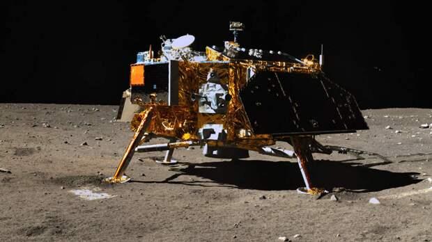 Почему на фото китайского лунохода Чанъэ-4 нет звезд?
