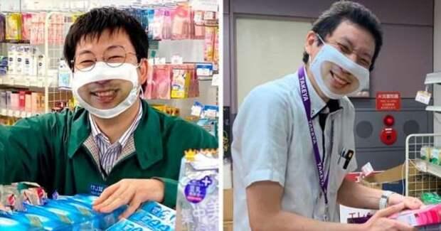 Японские «маски-улыбки»