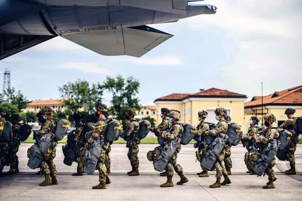 США готовятся к развалу Украины: Переброска войск началась