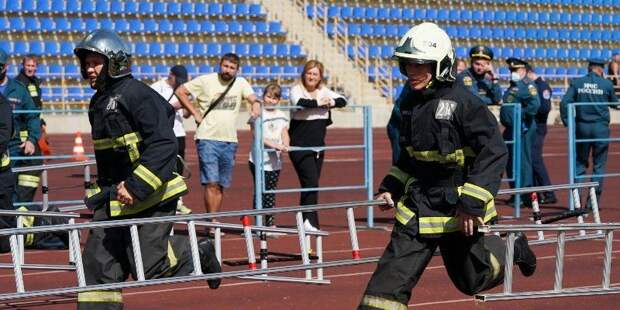 В Москве определили лучшего пожарного