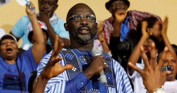 Веа всемогущий: бывший лучший футболист мира стал президентом Либерии