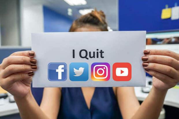 Отказавшись от социальных сетей, люди чувствуют себя значительно лучше