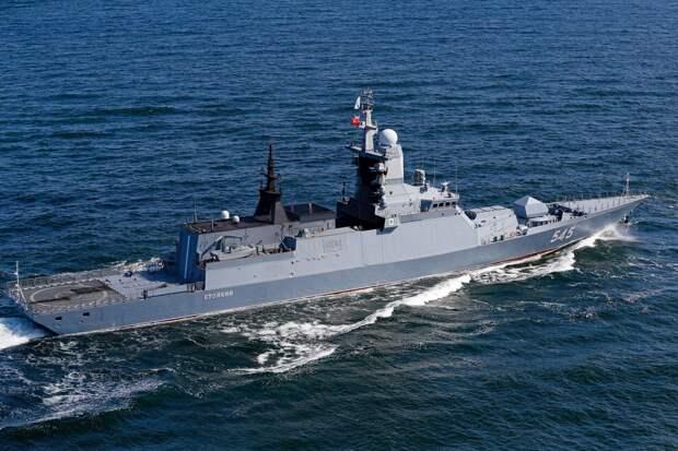 Российские военные корабли отправились в Атлантику