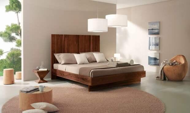 Кровати из массива дерева: как выбрать лучшую (80 фото)