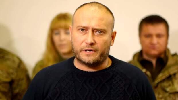 В Сети высмеяли украинского экстремиста Яроша за мечты о «болоте» вместо Москвы
