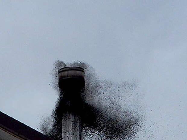 Как прочистить дымоход не вылезая на крышу?