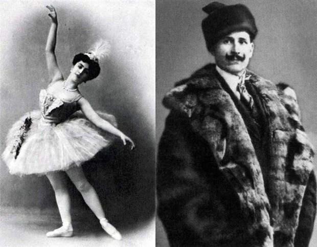 Матильда и Иосиф Кшесинские.