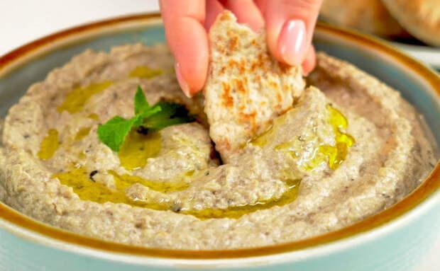 Намазка на хлеб из баклажанов: полезная замена маслу