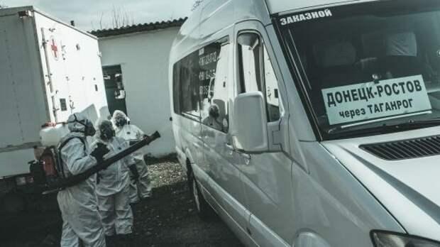 В ДНР показали, какие меры дезинфекции применяются в общественном транспорте