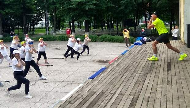 Бесплатное занятие по скандинавской ходьбе пройдет в Подольске во вторник