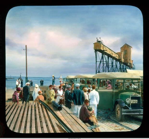 1. Одесса, туристы в порту.