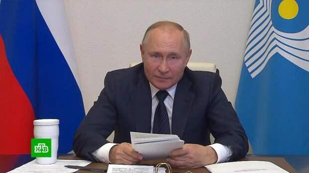 Путин призвал не торопиться с признанием талибов