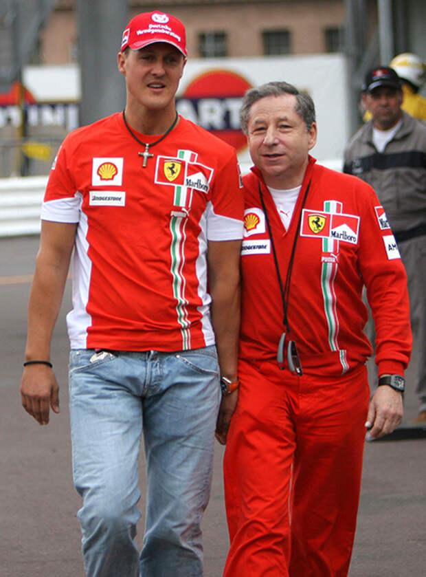 Президент FIA Жан Тодт рассказал о недавнем визите к Михаэлю Шумахеру
