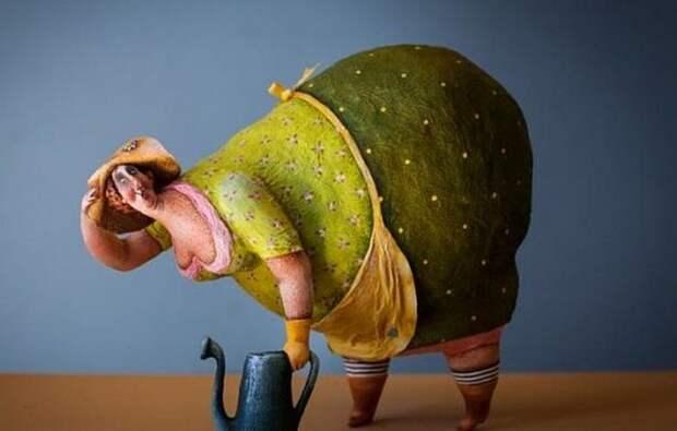 Очаровательные толстушки Кати Гусевой