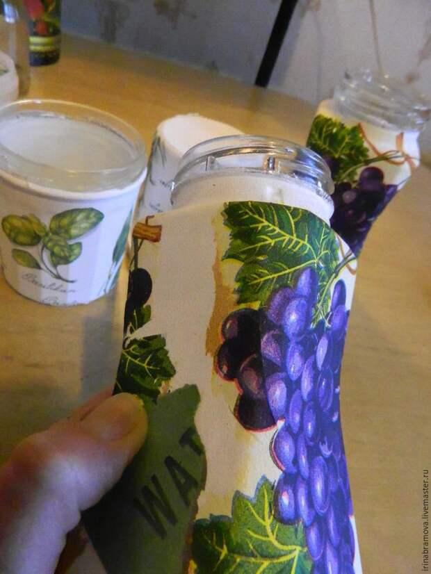 Ручная работа: декупаж на баночках из-под кофе