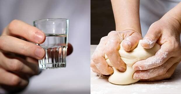 Тесто на водке