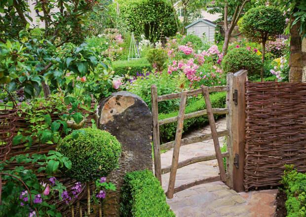 Топ-6 самых красивых калиток для дачи и сада