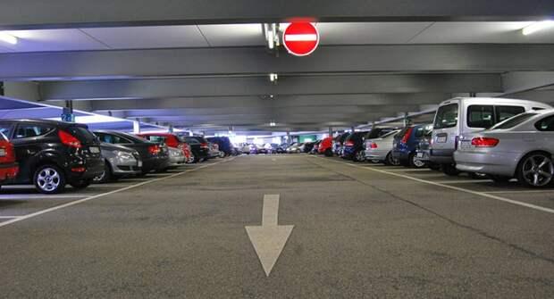 Средняя цена за одно парковочное место в новостройках Москвы составила 2 млн рублей