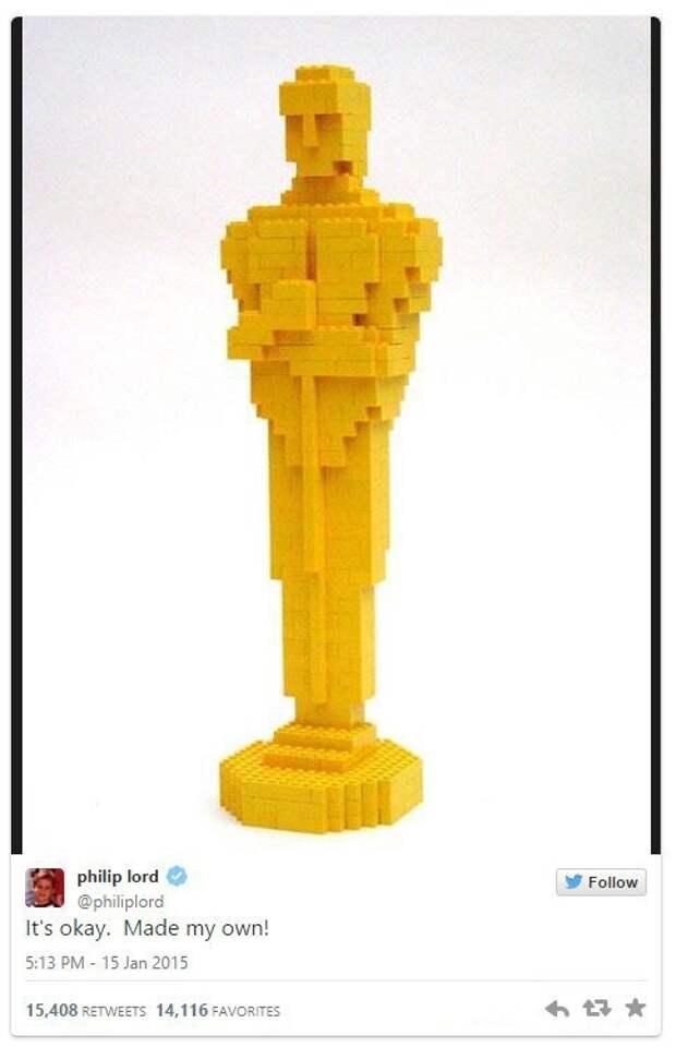 Оскар из LEGO