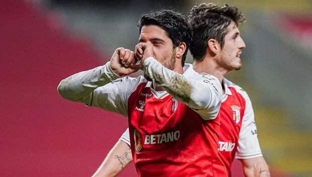 Эффектный гол полузащитника «Браги» дальним ударом признан самым красивым в 20-м туре чемпионата Португалии: видео