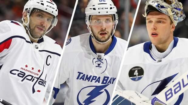 Кучеров получит «Харт», Василевский— «Везину», аОвечкин свой любимый трофей. Все награды НХЛ